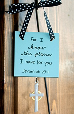 Plans for You--Mini Plaque   -