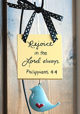 Be Joyful Plaque  -