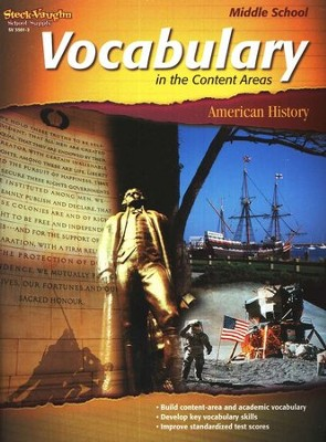 Vocabulary in the Content Areas, American History Middle School  -