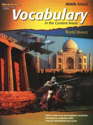Vocabulary in the Content Areas, World History Middle School  -
