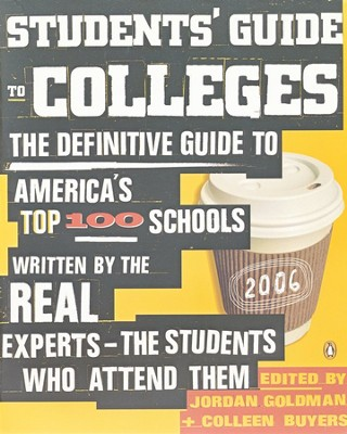 Students' Guide to Colleges  -     By: Jordan Goldman