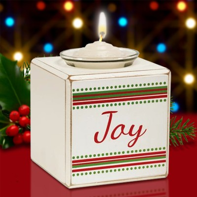 Joy Single Votive Holder  -