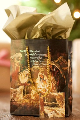 Nativity Gift Bag, Small  -
