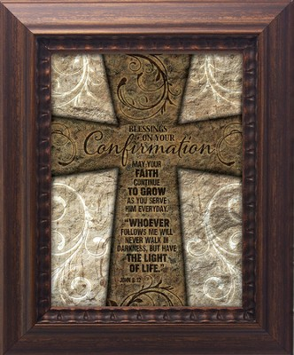 Blessings On Your Confirmation Framed Art  -