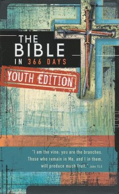 The Bible in 366 Days for Youth Gift Book  -