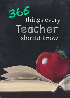 368 Things Every Teacher Should Know Gift Book  -