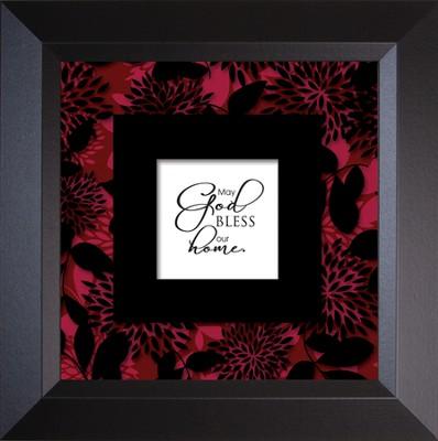 God Bless Home - Truth Squared Framed Art Series   -