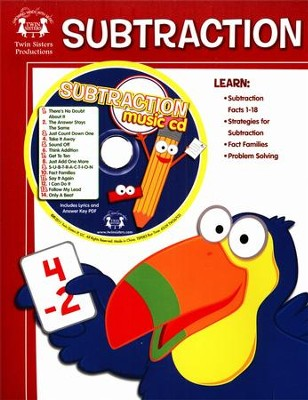 Subtraction Activity Book & CD   -