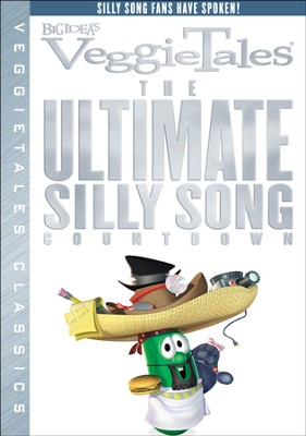 The Ultimate Silly Song Countdown, VeggieTales DVD   -