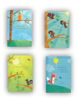 Forest Friends Cheer Cards, Box of 12  -