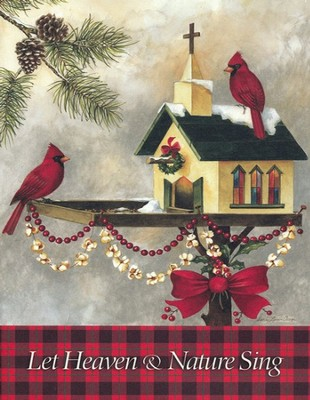Christmas In The Garden Deluxe Box Christmas Cards, Box of 20  -     By: Sandy Clough
