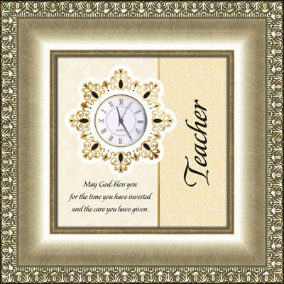 Reflections of Time, Clock, Teacher  -