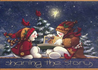 The Christmas Story Deluxe Box Christmas Cards, Box of 20  -