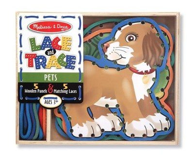 Pets Lace and Trace Panels  -