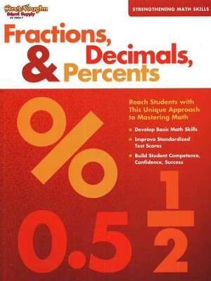 Fractions, Decimals & Percents  -