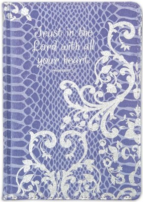 Trust In the Lord Journal, Purple  -