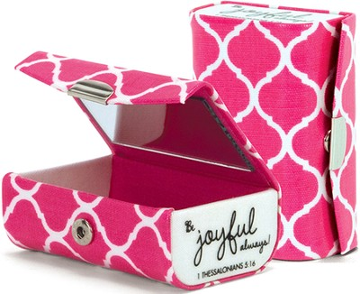 Be Joyful Always Double Lipstick Case   -