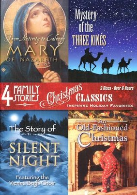 Christmas Classics: Inspiring Holiday Favorites, 2 DVDs   -
