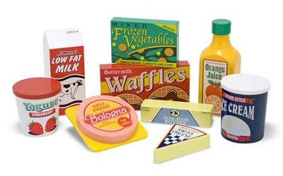 Fridge Food Play Set  -
