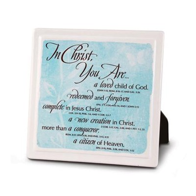 In Christ You Are, Plaque  -