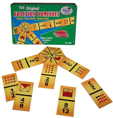 Fraction Dominoes   -