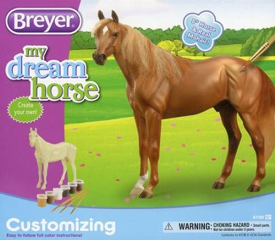 Customizable Thoroughbred: My Dream Horse Activity Kit  -