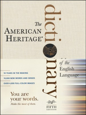 American Heritage Dictionary of the English Language, Fifth Edition  -     By: American Heritage Dictionary