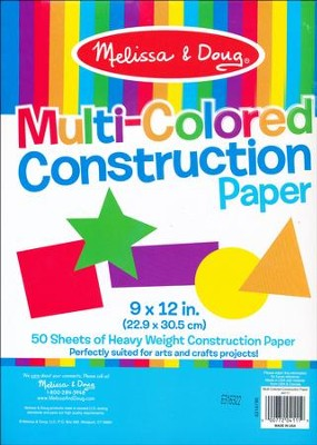 Multi-Color Construction Paper  -
