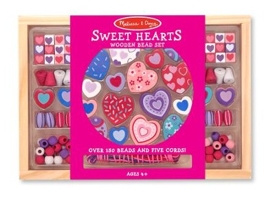 Sweet Hearts Bead Set  -