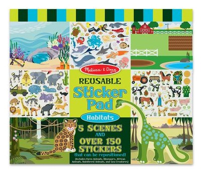 Habitats Reusable Sticker Pad  -