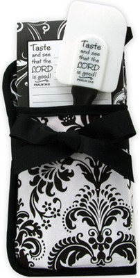 Taste and See Gift Set, Black and White  -