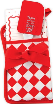 Taste and See Gift Set, Red and White  -