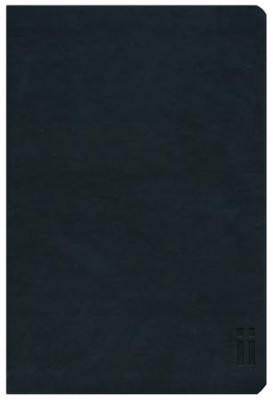 NASB Thinline Zippered Collection Bible, Black  -     By: Zondervan