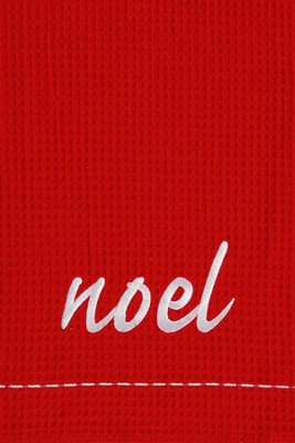 Noel, Christmas Decorative Towel  -