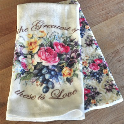 Two Piece Kitchen Towel Set   -     By: Sandy Clough