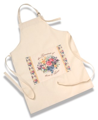 Love Among The Roses, Pocket Apron  -     By: Sandy Clough