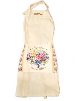 Personalized, The Greatest of These is Love, Apron   -     By: Sandy Clough