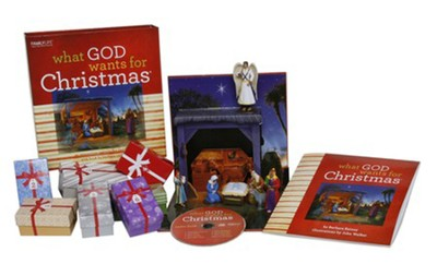 What God Wants for Christmas: An Interactive Nativity for Children  -