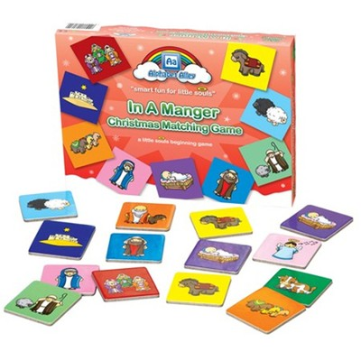 In A Manger Matching Game  -