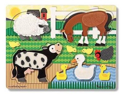 Farm Touch and Feel Puzzle  -