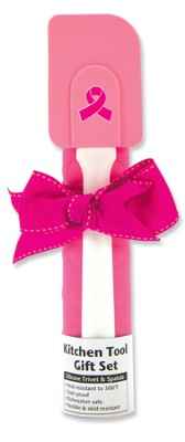 Celebrate Life Kitchen Tool Set, Pink Ribbon   -