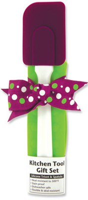 Kitchen Tool Gift Set, Purple and Green   -