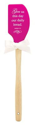 Give Us This Day Our Daily Bread Silicone Spatula  -