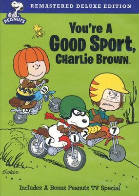 You're a Good Sport, Charlie Brown DVD, Deluxe Edition   -