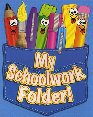 My Schoolwork Folder! Pocket Folder  -