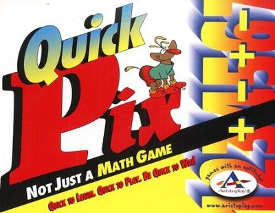 Quick Pix Not Just A Math Game Ages 7 and up   -