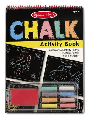 Chalk Activity Book  -