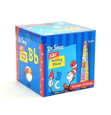 Dr. Seuss ABC Building Blocks    -