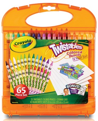 Twistables &#174 Colored Pencils Kit  -