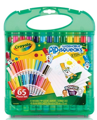 Pip-Squeaks &#174 Washable Markers Kit  -